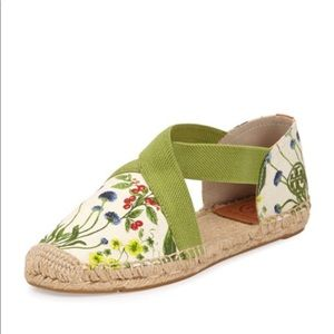 Tory Burch Catalina Strappy Printed Espadrille